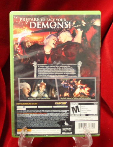 devil may cry 4 xbox 360 envio gratis