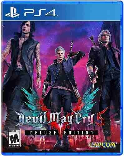 devil may cry 5 deluxe edition ps4