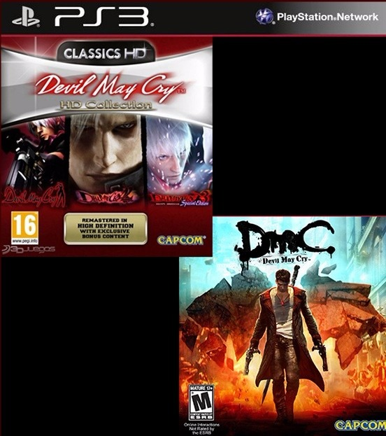 devil may cry collection ps3 digital.