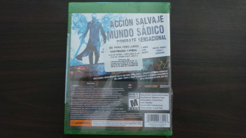 devil may cry definitive edition xbox one nuevo sellado