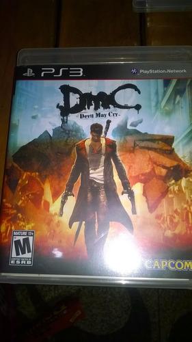 devil may cry - dmc - playstation 3 - ps3