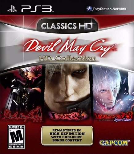 devil may cry® hd collection (ps3)