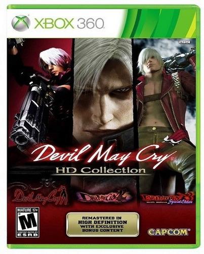 devil may cry hd collection xbox 360 nuevo y sellado juego