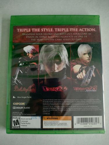 devil may cry hd collection xbox one nuevo envio gratis
