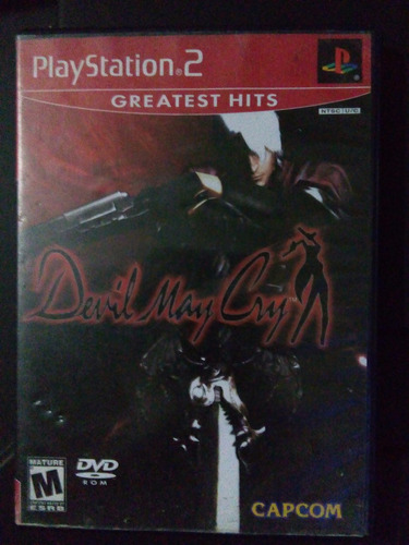 devil may cry ps2 playstation 2 trqs dmc