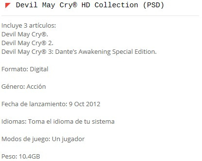 devil may cry® (ps3)