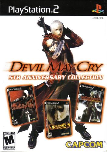 devil may cry trilogía playstation 2! excelente estado!