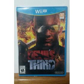 Devil's Third Wii U Versão Americana Lacrada - Única No Ml