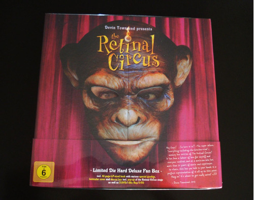 devin townsend - the retinal circus (limited deluxe box set)