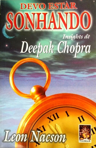 devo estar sonhando insights de deepak chopra livro saldão