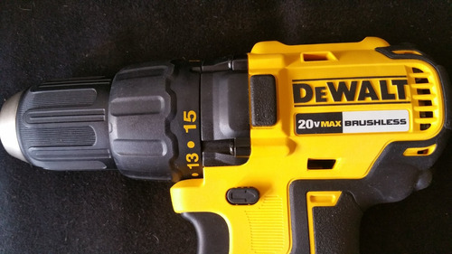 dewalt 20v compact brushless sin carbones y 2 baterias