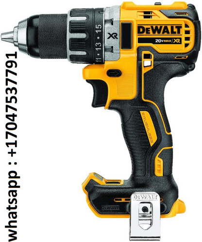 dewalt 20v max xr brushless drill/driver, compact-bare tool
