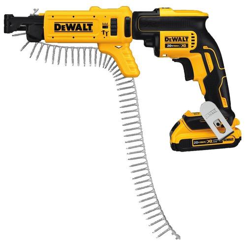 dewalt dcf6201 20-volt max xr li-ion drywall screwgun revist