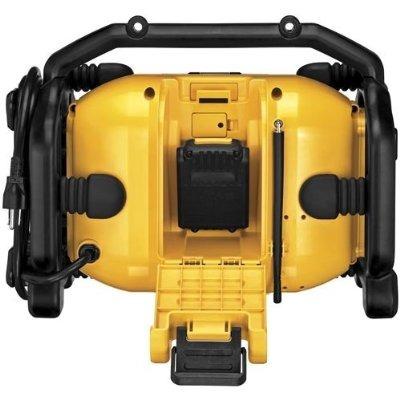 dewalt dcr015 12v / 20v max lugar de trabajo del cargador de