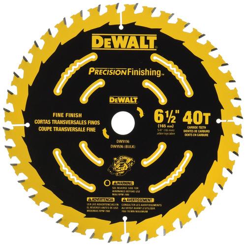 dewalt dw9196 hoja de corte de precisión de corte de 6-1-2 p