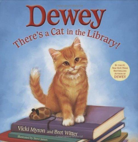 dewey: hay un gato en la biblioteca!