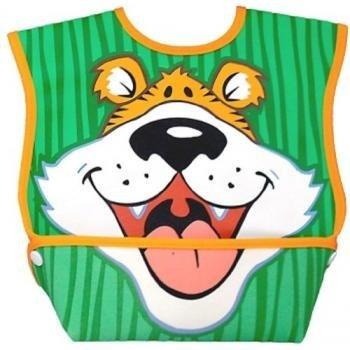 dex bebé dura bib big mouth (tiger)