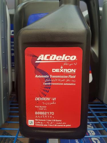 dexron atf vi liquido transmisión automática acdelco
