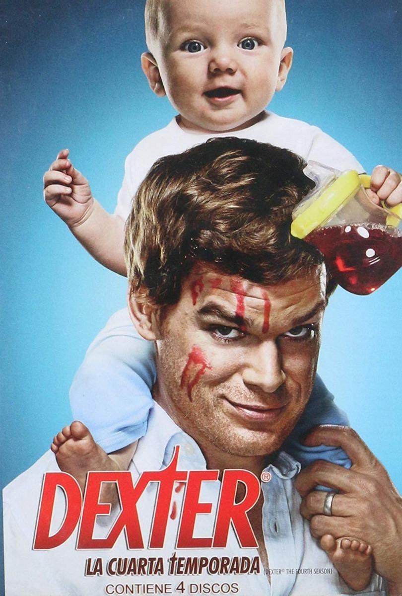 Dexter Cuarta Temporada 4 Cuatro Dvd - $ 349.00 en Mercado Libre