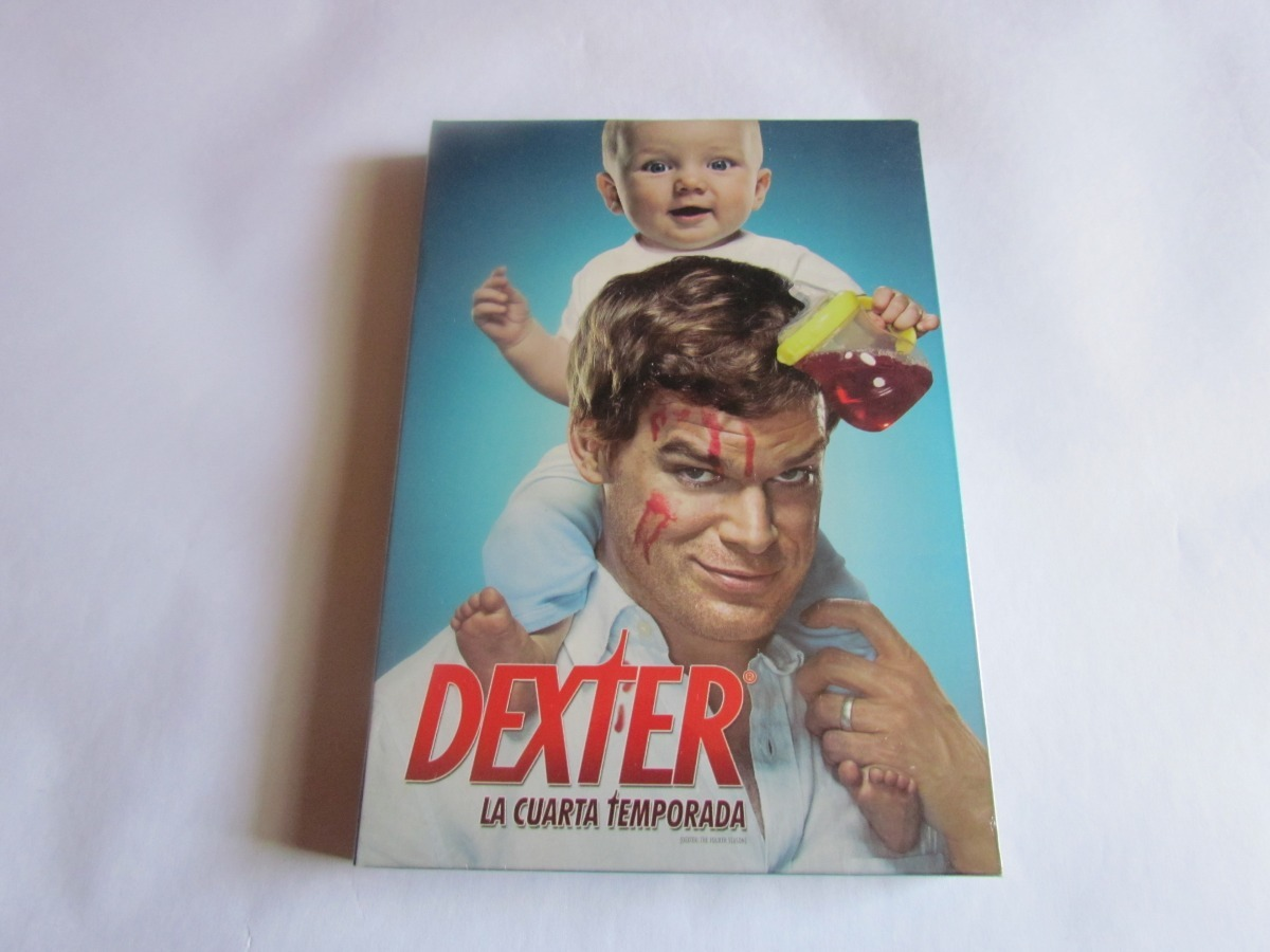 Dexter Cuarta Temporada Completa Dvd Original - $ 9.900 en Mercado Libre