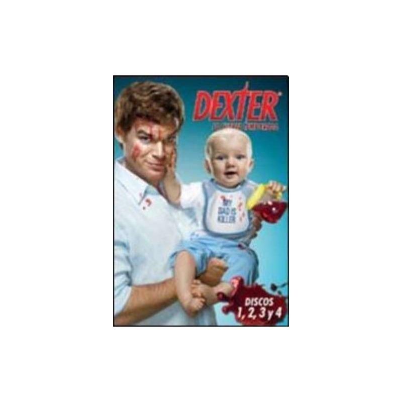 Dexter Cuarta Temporada Dvd X 4 Nuevo - $ 242,40 en Mercado Libre
