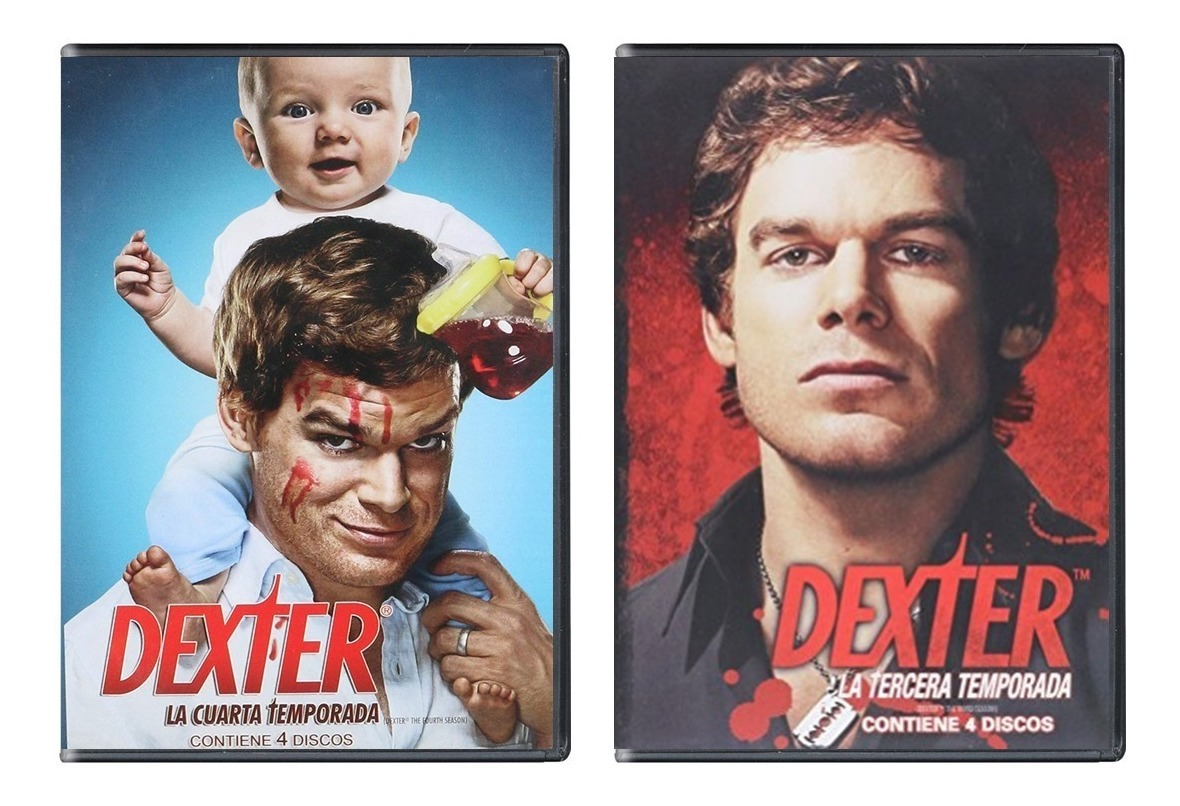 Dexter Serie Completa Temporadas 1 2 3 4 5 6 7 8 Paquete Dvd
