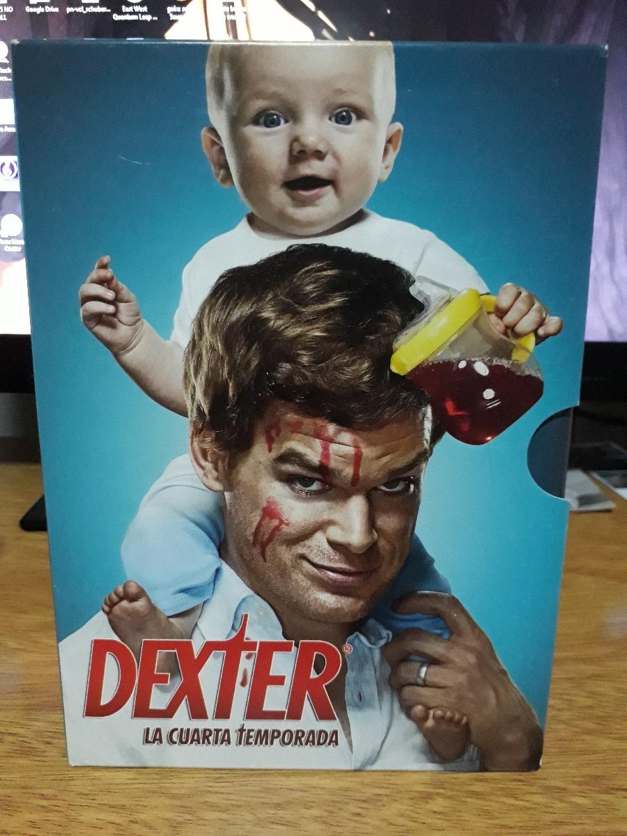 Dexter - Temporada 4 (dvd) - $ 100,00 en Mercado Libre
