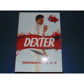Dexter Temporadas 1, 2, 3 E 4, 16 Dvds