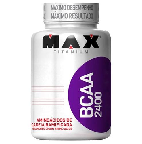 dextrose - 1kg + bcaa 100 cápsulas -  max titanium