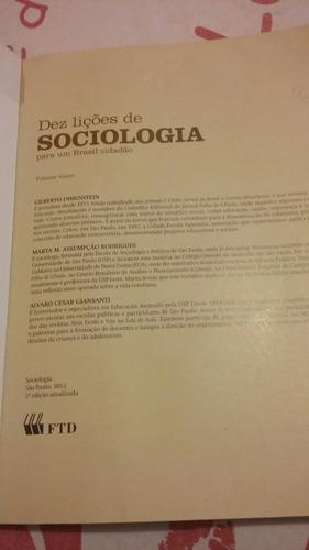 dez lições de sociologia