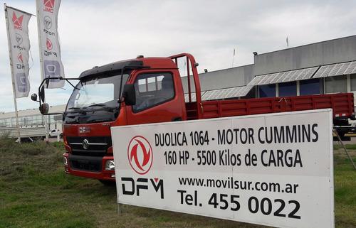 dfm duolica motor cummins 160hp. 6 velocidades 5500kg carga