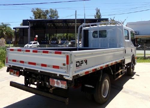dfm t01 d/cabina motor nissan 140hp 6 pas. p/4 ton. 0km my18