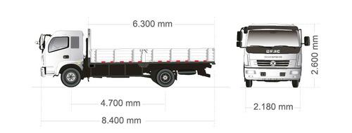 dfm1216 carga 8tn motor cummins 160hp, 6 velocidades