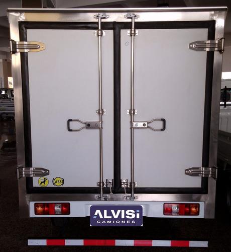 dfsk 1.5cc furgón térmico y equipo de frío -5cº iva inc.