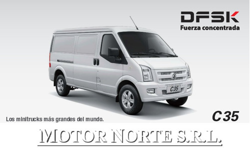 dfsk c-35 1.5 furgon puerta lateral