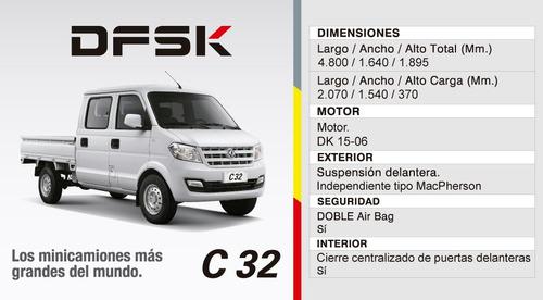 dfsk c32 okm 2018 1.5 cab doble tomo permuta financio