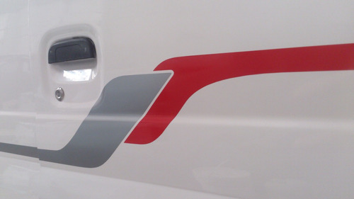 dfsk doble cabina pick up 1.1 adhesivos laterales y caja