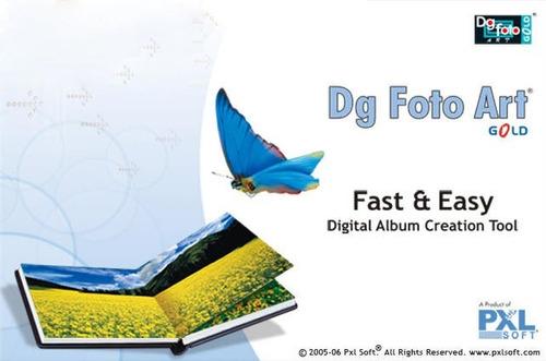 dg foto art gold 2.0 para el armado de fotolibros 6 dvds