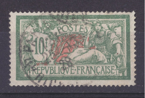 dg- francia sello merson 10 francos - 1924