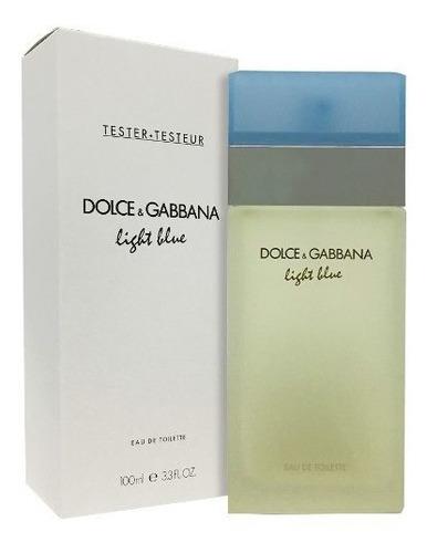 d&g light blue mujer tester 100ml edt silk perfumes original