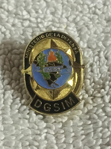 dgsim antiguo pin 1978 dirección inteligencia militar (10d)