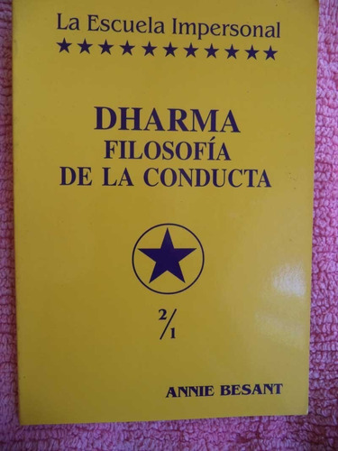 dharma filosofía de la conducta annie besant cpx429