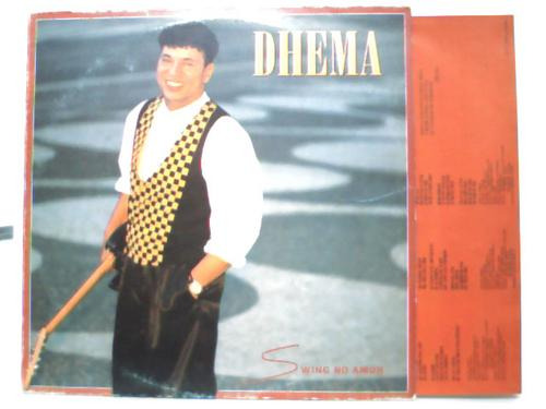 dhema swing no amor  - lp columbia 1994 com encarte