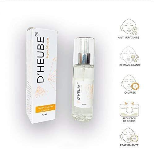 dheube agua micelar revitaliza tu piel afina la textura