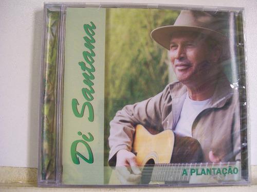 di santana, a plantação, cd lacrado original