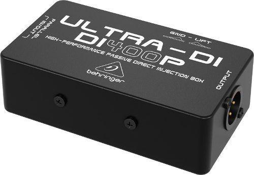 di400p direct box passivo behringer ultra di-400p di 400 p