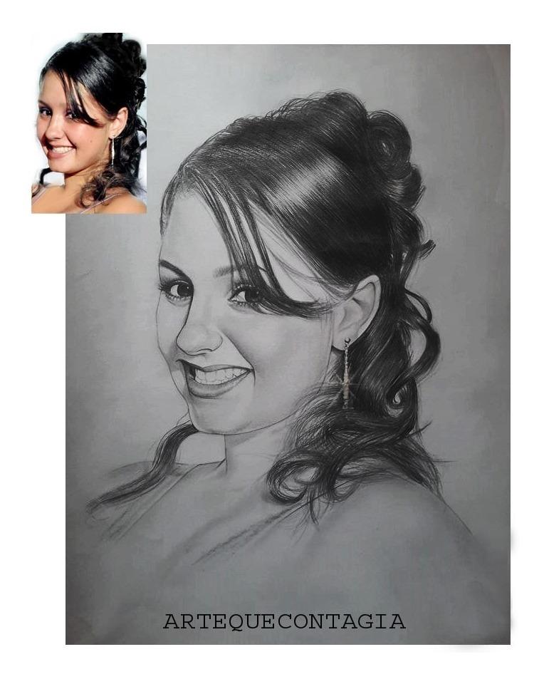 Dia Das Criancas Presente Desenho Realista Preto E Branco R 239