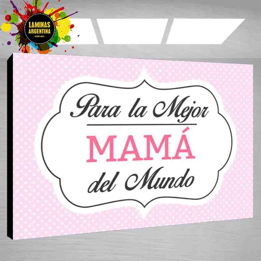 Dia De La Madre Cuadros Personalizados - Feliz Dia Mama - $ 299,99 ...