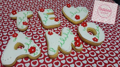 dia de la madre. postres, cookies de manteca, cupcakes