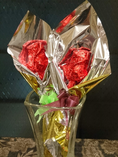 dia de la mujer - rosas de chocolate - regalos, aniversarios
